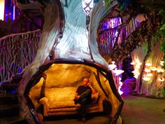 Santa Fe, -- 6 hours from Denver— an enormous psychedelic playhouse and art exhibit called The House of Eternal Return created by the art collective Meow Wolf. Meow Wolf Santa Fe, Wolf Call, Eternal Return, Rivers And Roads, Interactive Museum, Visit Santa, Jesus Art, Europe Packing, Traveling Europe