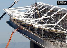 Galería de Así avanza la construcción del Estadio Wanda Metropolitano en Madrid - 4