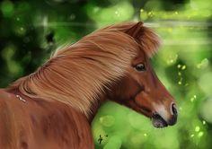 The horse Nunna by Avorage on DeviantArt