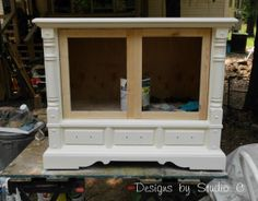 How to Build Doors for an Existing Furniture Piece