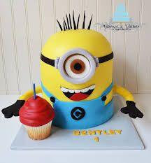 minion cupcakes - Google Search