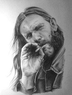 Lemmy Kilmister by Apokefale
