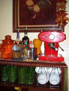 Luca Trazzi's francis FRANCIS! espresso machine/the coffee bar