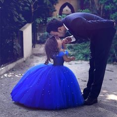 little girl Cinderella dresses,royal blue ball gowns,Pageant Dresses