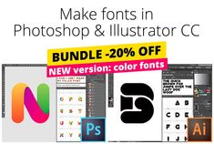Fontself Maker Bundle for PS & AI by Fontself on @creativemarket