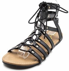 Free Reign Women's Wide Width Strappy Lace Up Boho Gladiator Sandal ** New and awesome product awaits you, Read it now  : Gladiator sandals