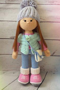 Куколка Стеша | Вязальный уголок Татьяны Косточенковой