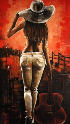 Buy Guitar Girl an Acrylic Painting on Canvas by Dita Omuri from United Kingdom For sale Price is 580 Size is 39 4 x 19 7 x 1 4 in Guitar Girl, Buy Guitar, Guitar Logo, Guitar Tabs, Guitar Painting, Music Painting, Painting Art, Painting Of Girl, Girl Paintings