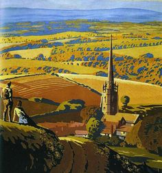 The Colourful World of graphic artist Brian Cook (1910-1991) | Derbyshire Life