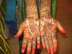 Bridal Mehndi by Live4sports, via Flickr
