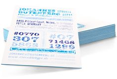 Fantastic business cards. 4-color printing, 3xThickness, Mohawk Superfine and ability to insert color layer.