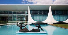Colunas do Palácio da Alvorada se tornaram símbolos de Brasília
