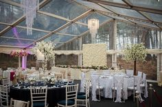 Orrell Hill Woods Showcasing a Clear Span Marquee as provided by Elite Marquees.