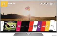 With sleek minimalistic frame enjoy watching Cinema or your favourite programme through LG Widescreen Full HD LED Smart TV which cost only FREE UK delivery Lg Televisions, Lg Tvs, Netflix, Tv Lighting, Lg Electronics, Hd Led, Home Cinemas, Smart Tv, Cool Things To Buy