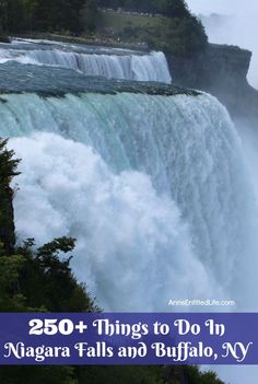 250 Things to Do In Niagara Falls and Buffalo, NY Where Is Niagara Falls, Hotels Near Niagara Falls, Niagara Falls Camping, Niagara Falls New York, Niagara Falls American Side, Best Places To Travel, Places To Go, Buffalo City, York Things To Do