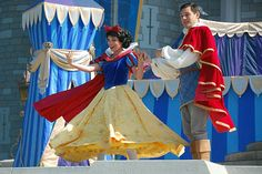 snow white prince | snow white and prince at disneyworld - prince-and-snow-white Photo