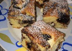 Túrós - szilvalekváros süti | Csiba Erika receptje - Cookpad receptek Winter Food, Bagel, Delicious Desserts, French Toast, Food And Drink, Cooking Recipes, Sweets, Bread, Cookies