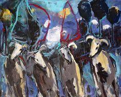 Sin título. Óleo sobre lienzo. 130 x 162 cm. 2003. Autor: Jorge Rando