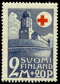 Postage stamp depicting the Vyborg Castle in the city of Vyborg, 1931