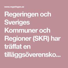 Regeringen och Sveriges Kommuner och Regioner (SKR) har träffat en tilläggsöverenskommelse om förlossningsvård och kvinnors hälsa....