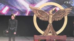 Hunger Games Mockingjay   Katniss armor Cosplay @EtnaComics2015