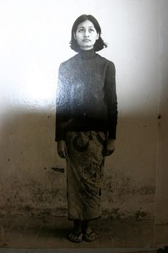 Woman who was a prisoner at the S-21 prison in Phnom Penh, Cambodia   Flickr - Photo Sharing!