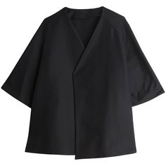 The Row est. Dark Fashion, Minimal Fashion, Kimono Jacket, Japan Fashion, Linen Dresses, Simple Dresses, Coats For Women, The Row, Women Wear