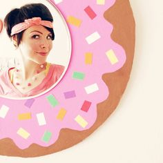 I don't often take selfies, but when I do, they're inside a donut. #donuts…