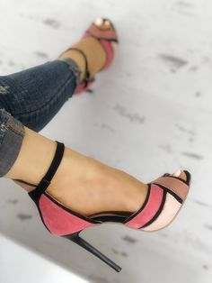 Shop Colorblock Ankle Strap Thin Heeled Sandals right now, get great deals at Joyshoetique. Shop Colorblock Ankle Strap Thin Heeled Sandals right now, get great deals at Joyshoetique. Prom Shoes, Women's Shoes, Shoe Boots, Strappy Shoes, Golf Shoes, Platform Shoes, Ankle Shoes, Black Shoes, Jeans Shoes