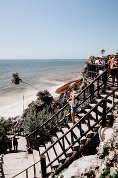 An Instagram Guide To Tulum - Fashion Mumblr Beach Town, Beach Club, Coco Tulum, Fashion Mumblr, Mexico, Island, Vacation, Water, Travel