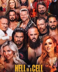 Wwe Events, Wwe Ppv, Raw Wwe, Dolph Ziggler, Wwe Wallpapers, Aj Styles, Dean Ambrose, Alexandra Daddario, The Cell