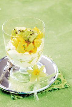 Pikapasha ja hedelmäsalaatti
