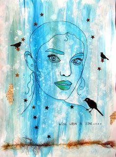 Bastelmania: Blue and grey
