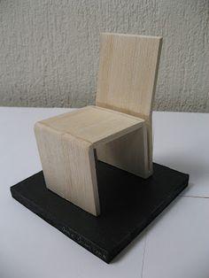 maqueta silla