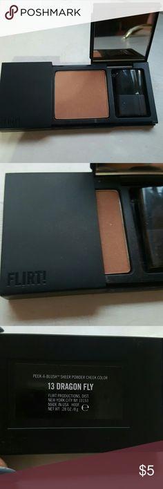 Flirt! Powder Blush New, packaging open. Never used. Brand: Flirt! 13 Dragon Fly  Bundle to save 20% Flirt! Makeup Blush