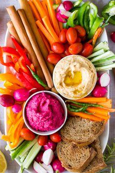 Roasted Garlic White Bean Spread - 2 Ways - Vegan and Gluten-free