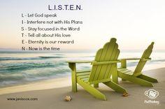 Time LISTEN