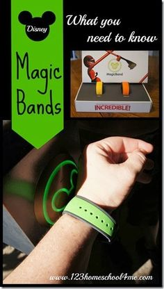 What you need to know about Disney MagicBand. This is great information if you are heading to Disney World as Disney's new Magic Bands are a new technology finishing up testing phase. They are super cool and will make your trip even more hassle free! Disney World 2015, Disney 2015, Walt Disney World Vacations, Disneyland Trip, Disney Parks, Family Vacations, Orlando Disney, Disney Resorts, Disney Cruise