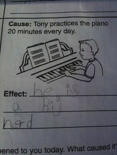 Funny pictures about 25 Kids That Gave Absolutely Brilliant Answers On Their Tests. Oh, and cool pics about 25 Kids That Gave Absolutely Brilliant Answers On Their Tests. Also, 25 Kids That Gave Absolutely Brilliant Answers On Their Tests photos. Funny Kid Answers, Funniest Kid Test Answers, Kids Test Answers, Dating A Teacher, School Humor, Really Funny, No Response, Laughter, Funny Quotes