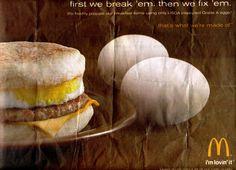 Break 'em ©2011 McDonald's Mcdonalds Breakfast, Tray, Food, Essen, Trays, Meals, Yemek, Eten, Board