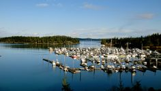 The view from Roche Harbor Resort on San Juan Island.  One of my favorite places in the world!