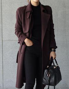 Image de fashion, black, and coat