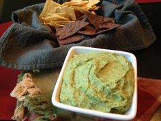 Cannellini Bean and Avocado Hummus by Southern Girl Eats Clean!