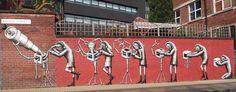 Phlegm, Comic Frames, Sheffield - unurth | street art