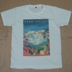 Graviton T Shirt Tame Impala Rock Band Pop Star Music Biker Indie Punk Guitar M | eBay