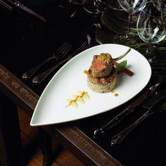 Eatertainment - lamb dish ?