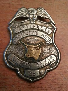 Vintage Old West 1920s 30s Cattlemens Protective ASSN Austin Texas Police Badge. Bought at local shop for $30. Sold Buy it now on ebay for $80 after fees. Total now $7,025
