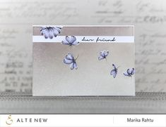 Hello! It's Marika here again, I hope you are all having a beautiful morning. A few weeks back, Svitlana made a tutorial on embossing resist technique. I was so inspired by her work that I wanted to try on my own – here's a link to her card! Her project gave me an idea how …