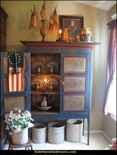 Americana Decorating Ideas Rustic Colonial Style Decorating Ideas More