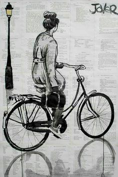 biking through it all...